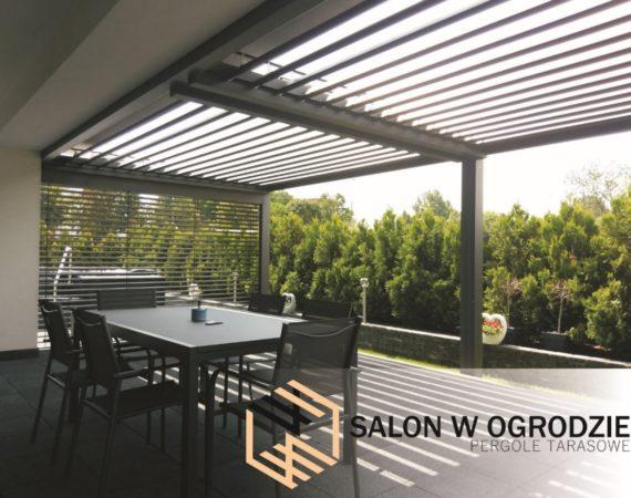 zadaszenie tarasu pergole tarasowe salon w ogrodzie zabudowa tarasu