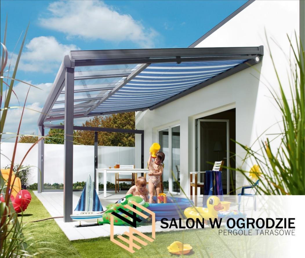 dach szklany zadaszenie tarasu pergola aluminiowa mała